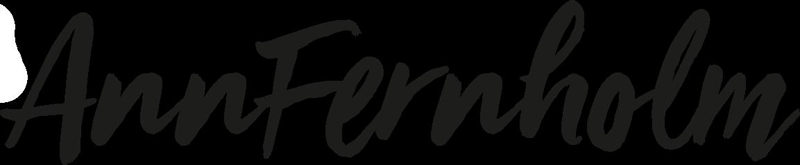 Ann Fernholm - logo