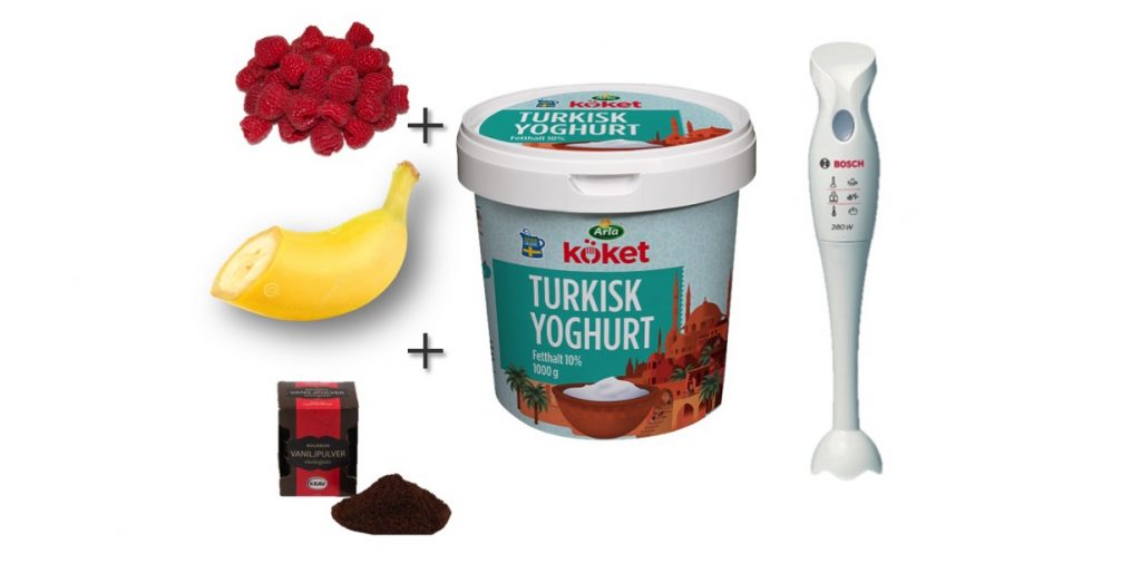nyttig yoghurt utan socker